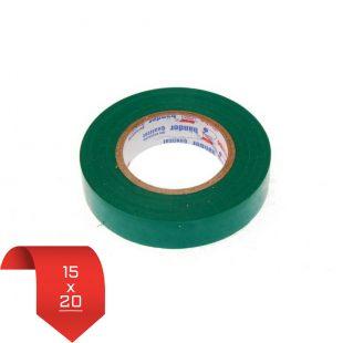 Изолента 15х20 зеленая
