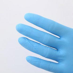 Перчатки нитриловые ГОЛУБЫЕ, ФИОЛЕТОВЫЕ раз.S в коробочке по 100шт