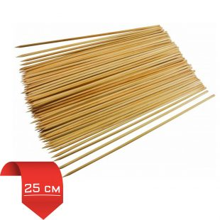Шампур (Стек) деревянный 25см(упак 100шт)