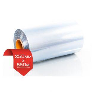 250мм/550м 15 мкм, термоусадочная пленка PVC
