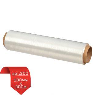 Пищева пленка 300мм * 200м белая POLO арт.200