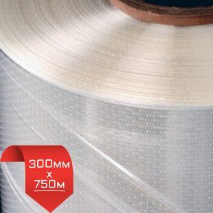 300мм/750м, 15 мкм, термоусадочная пленка POF / перфорация
