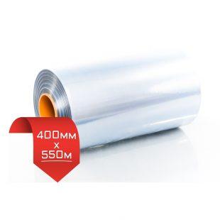400мм/550м, 15 мкм, термоусадочная пленка PVC