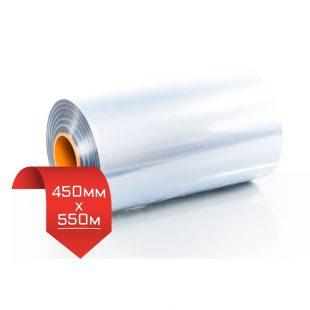 450мм/550м, 15 мкм, термоусадочная пленка PVC