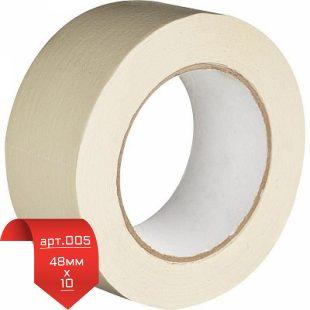 Малярная лента (крепп) Housekeeper 48мм*10 арт.005