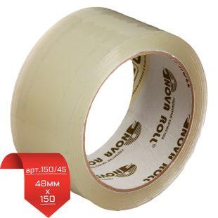 Клейкая лента НоваРолл 48мм *150 арт.150/45 прозрачный