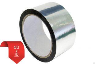Металлизированная клейкая лента 50*10