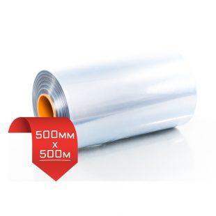 500мм/500м, 20 мкм, термоусадочная пленка PVC