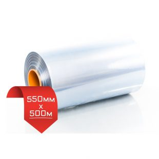 550мм/500м, 20 мкм, термоусадочная пленка PVC