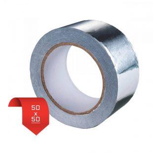 Алюминиевая клейкая лента 50*50