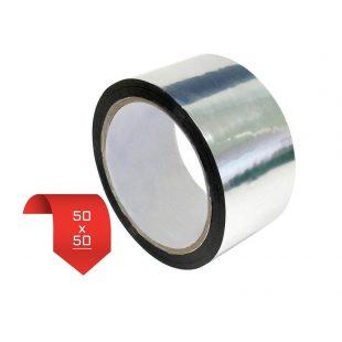 Металлизированная клейкая лента 50*50