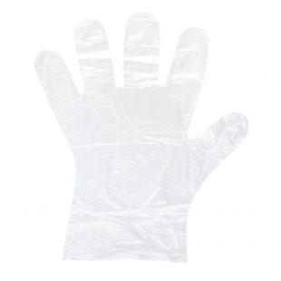 Перчатки полиэтиленовая одноразовая (упак 100шт) раз.М