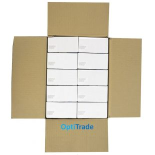Перчатки латексные Dermagrip High Risk в коробочке 25 пар раз. L