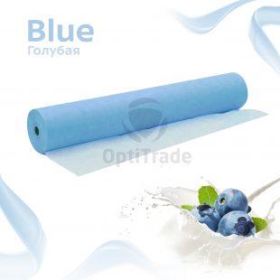 Простыни 70*200 в рулоне голубой Standart PLUS №100/600