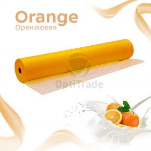 Простыни 70*200 в рулоне оранжевый Standart №100/600