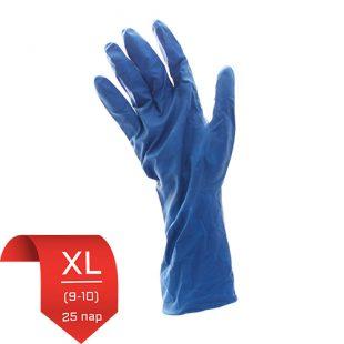 Перчатки латексные UniMax синие XL (9-10) 25 пар