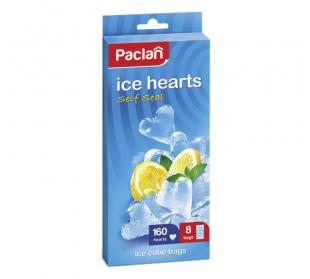 Мешочки для приготовления ледяных сердечек  8 х 20шт. (ПВД)