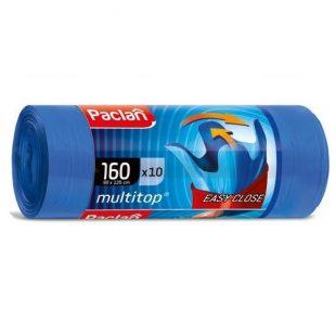 Мешки для мусора MULTI-TOP 160л 125x90см 10шт., (ПВД)