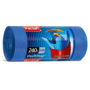 Мешки для мусора MULTI-TOP 240л 145x90см  10шт., (ПВД)