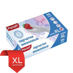 Перчатки виниловые (XL) 100шт.