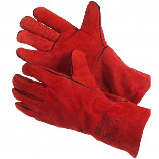 Спилковые перчатки и краги