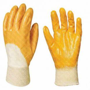 Перчатка ХБ с нитриловым покрытием Лайт