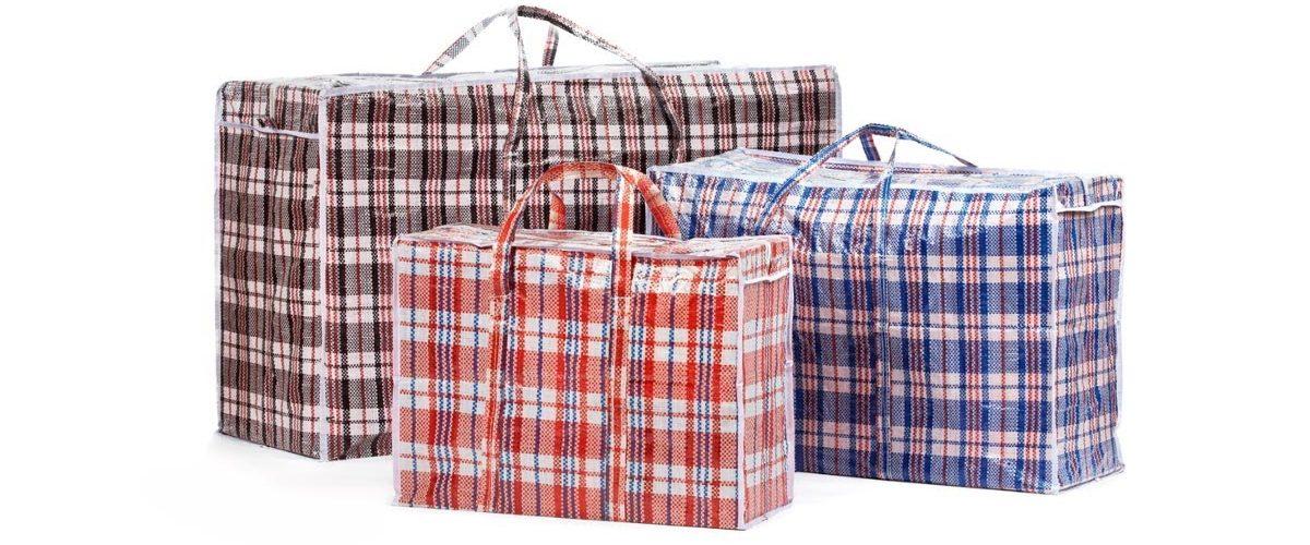 клетчатая сумка